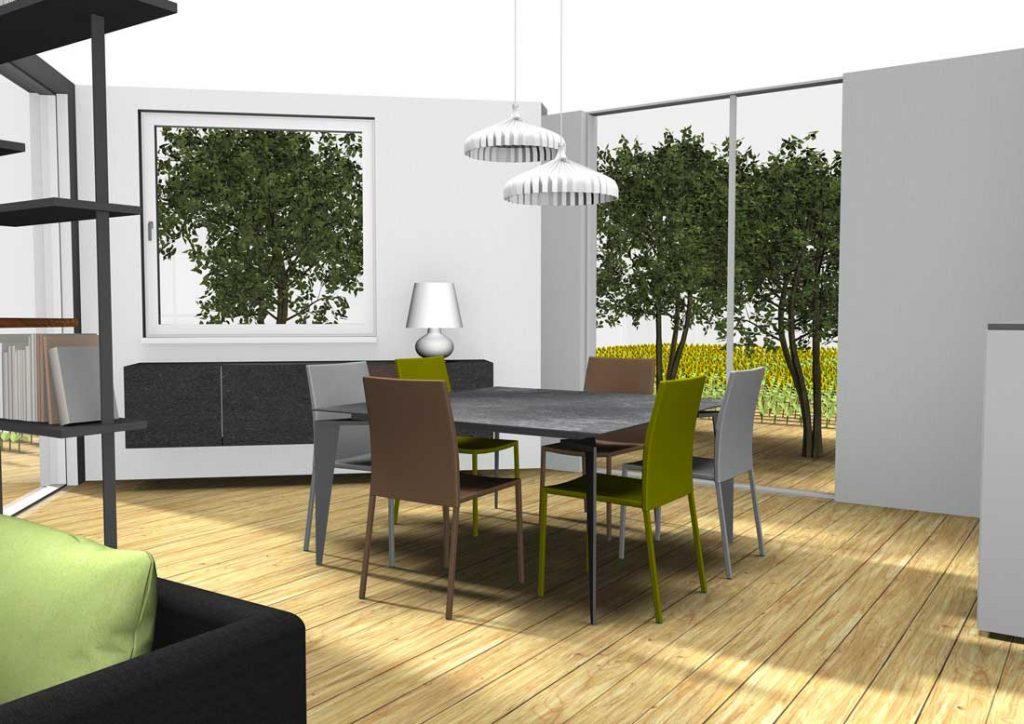 am nagement d 39 un espace ouvert int rieur ext rieur cerezo. Black Bedroom Furniture Sets. Home Design Ideas