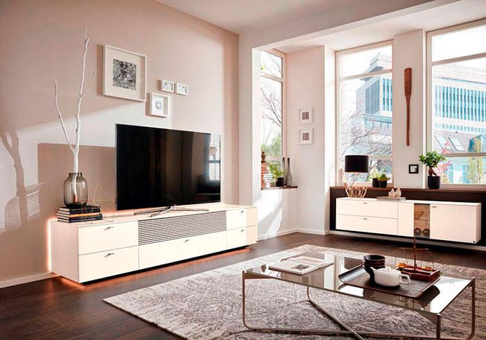 media corner cerezo. Black Bedroom Furniture Sets. Home Design Ideas