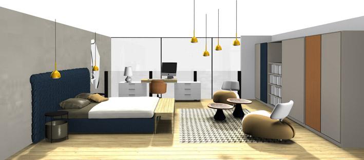 am nagement d 39 une mezzanine cerezo. Black Bedroom Furniture Sets. Home Design Ideas