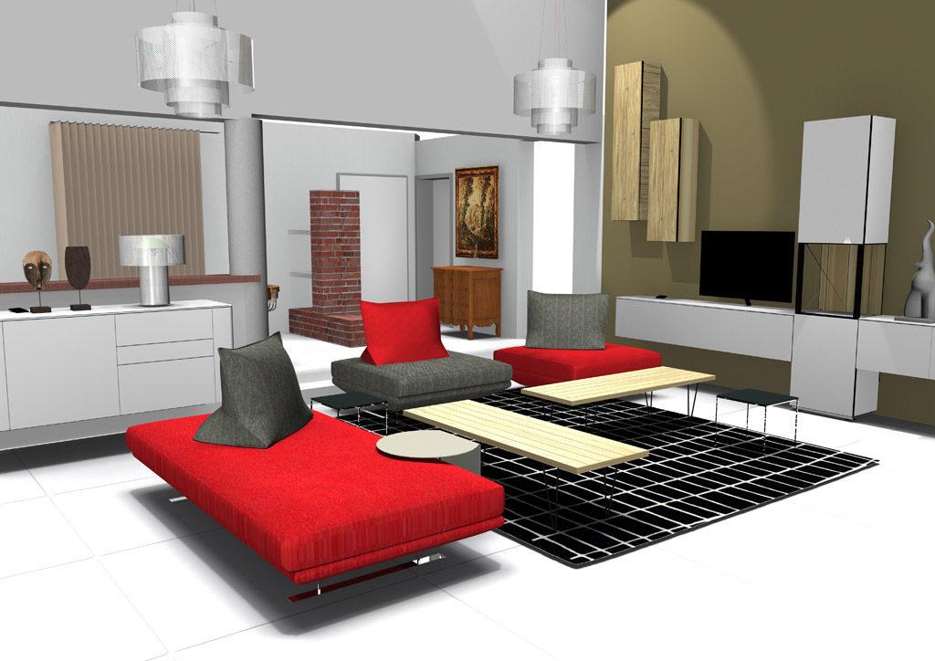 Un salon accueillant et très contemporain | Cerezo